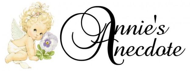 Annie's Anecdote Nov 2013