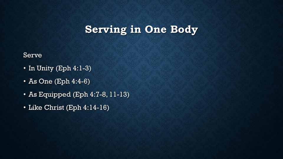 serving-in-one-body